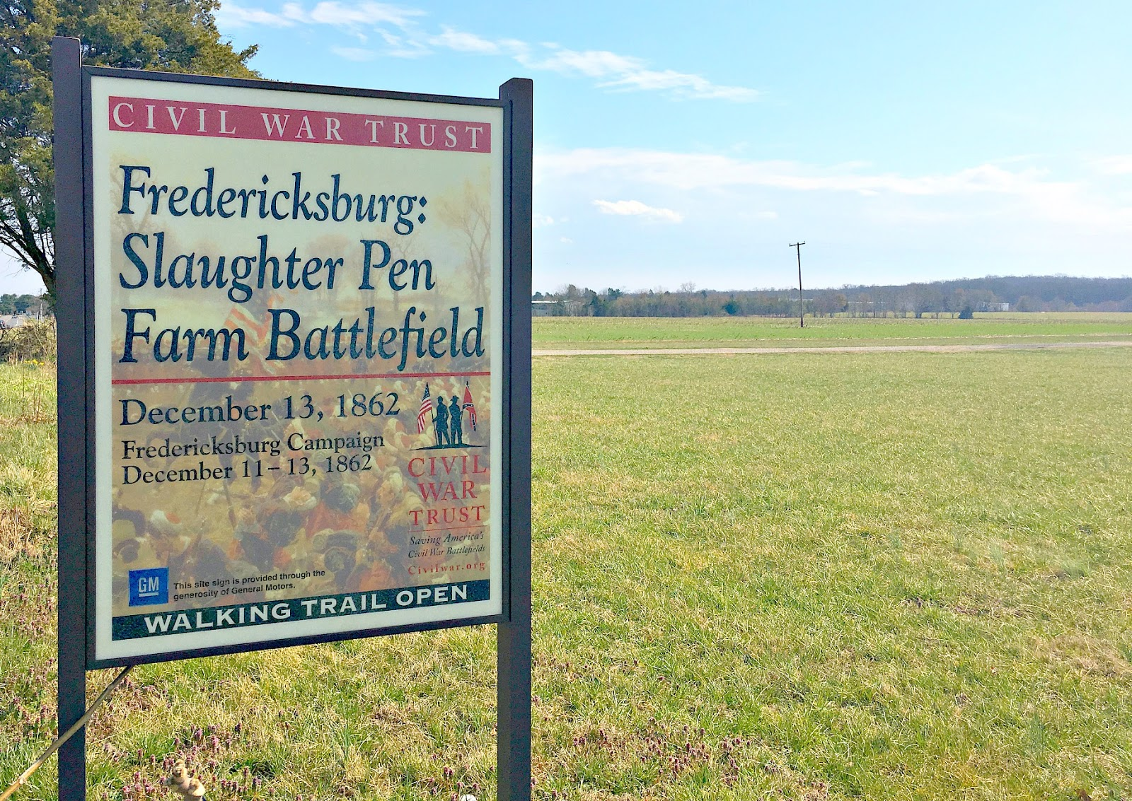 John Banks Civil War Blog Voices From Slaughter Pen Fredericksburg S Forgotten Field