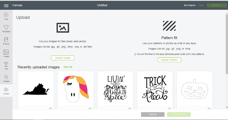 Real Girl's Realm: How To Use an Uploaded Image With Cricut