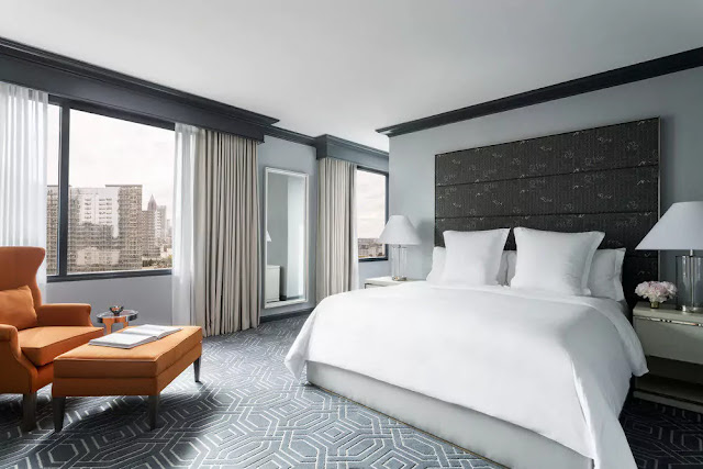 Situated in the heart of Atlanta's Midtown district, Four Seasons Hotel Atlanta's 244 ultra-spacious luxury hotel rooms and suites boast commanding views of the city skyline. Enjoy award-winning new American cuisine and relaxing spa treatments, all with unrivalled southern hospitality.