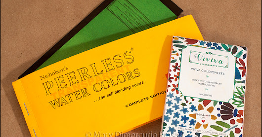 Review/Comparison Viviva Colorsheets and Peerless Watercolors