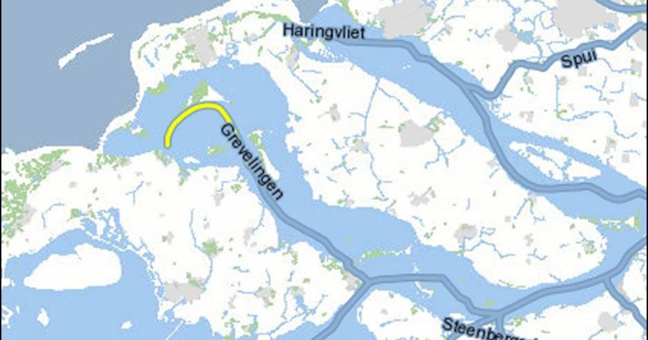 Zeeland Holland Karte.Kaart Nederland Vakantie Kaart Grevelingenmeer Vakantie