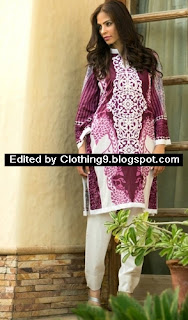 Maheen Embroidered Kurti Collection