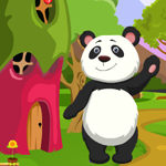 Games4King Cute Panda Rescue Walkthrough