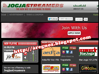 Radio Streaming Jogja [Jogja Streamers]