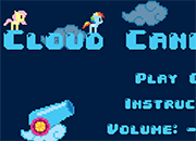 juego MLP Cloud Cannon