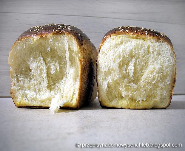 Japoński chleb mleczny Hokkaido