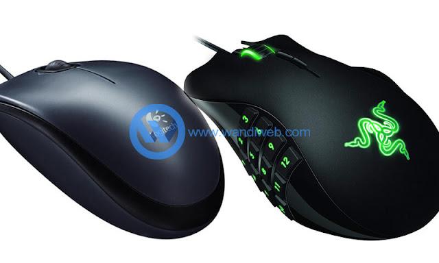 Perbedaan Mouse Gaming (Macro) dan Mouse Biasa Dari Segi Bentuk dan Fungsinya - WandiWeb