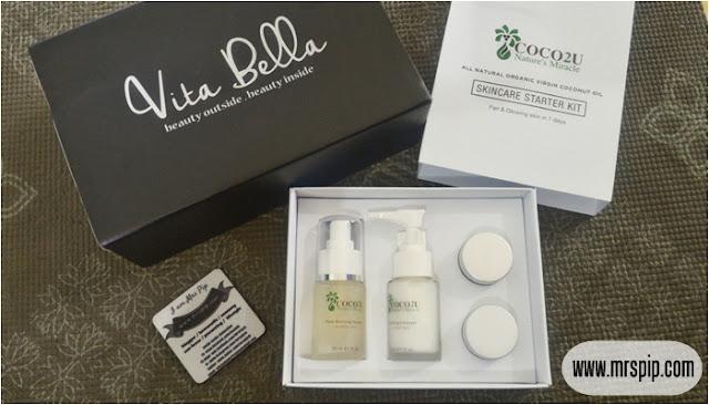 Menang giveaway starter kit COCO2U Nature's Miracle