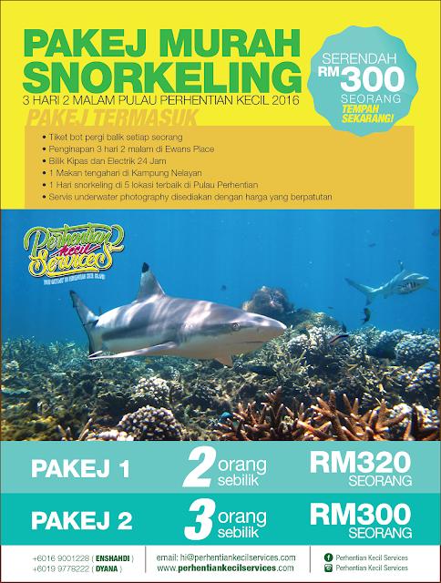 promosi pakej snorkeling murah pulau perhentian kecil
