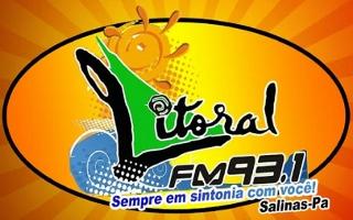 Rádio Litoral FM de Salinópolis PA ao vivo