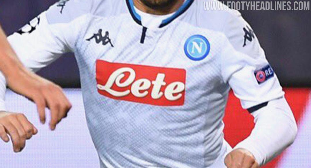 Kappa Napoli 19 20 Champions League Home Third Kits Revealed Footy Headlines