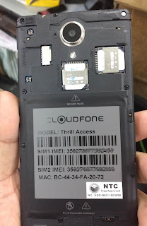 CloudFone Thrill Access Firmware