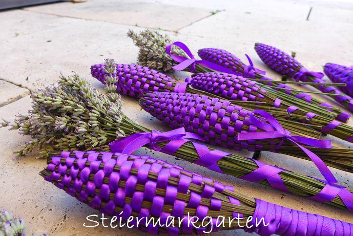 Lavendelstäbe-Steiermarkgarten