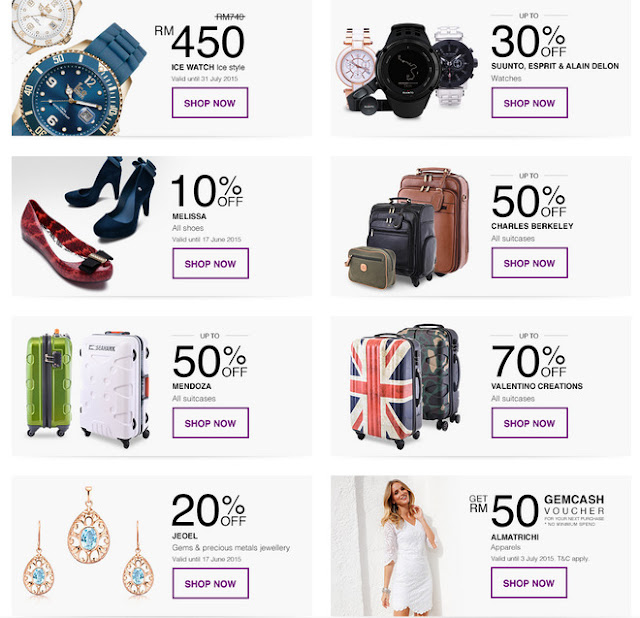 GEMdeals - Special promotion on selected brand items on GEMFIVE