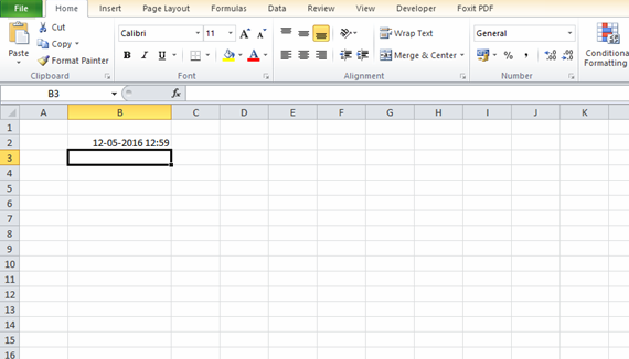 how to add timer to excel