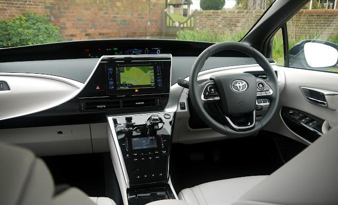 Toyota Mirai front interior