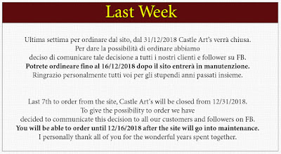 Castle Arts Closing