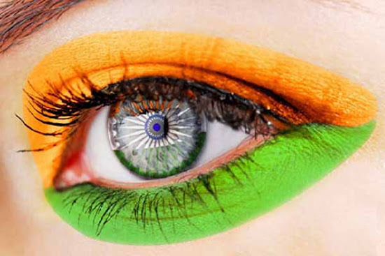 Celebrate Independence Day with Eye color