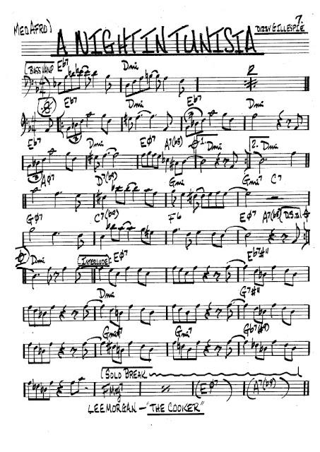Partitura Trombón Dizzy Gillespie