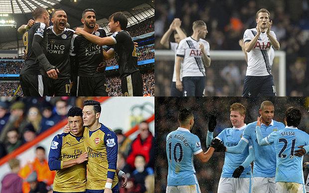 Confira os jogos que ainda restam para os candidatos ao título da Premier League