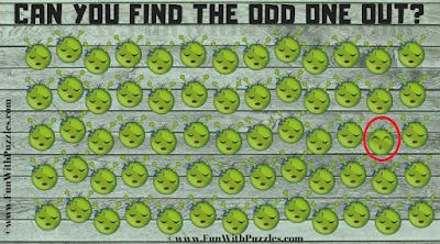 Answer of Find the Emoji   Quick Observation Test