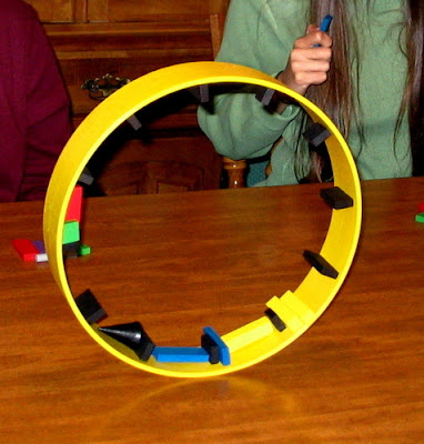 Hamsterrolle wheel in play
