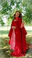 Arwen's Rose Gown by Elanna