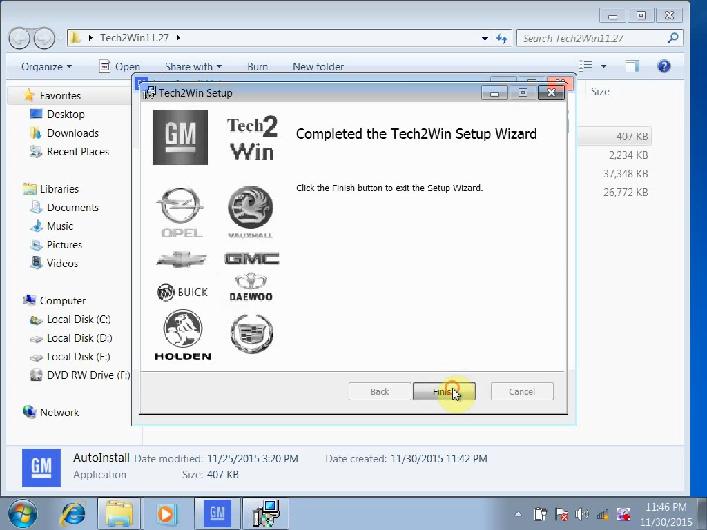 GDS2 & Tech2Win Windows 7 install for Vxdiag vcx nano GM | OBD2