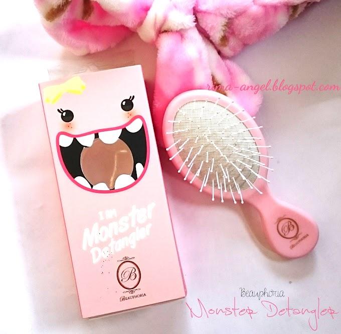 Review Beauphoria I'm Monster Detangler Pink