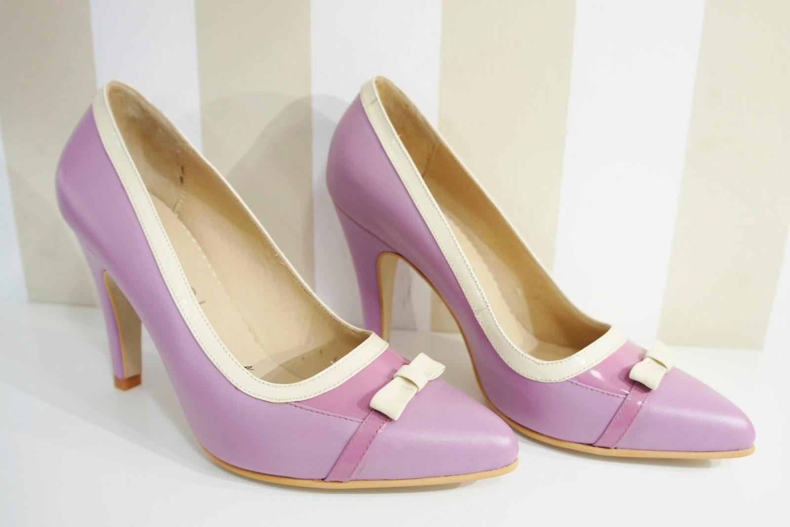 Lana Bang - Zapatos de Diseño stilettos, zapatos lilas