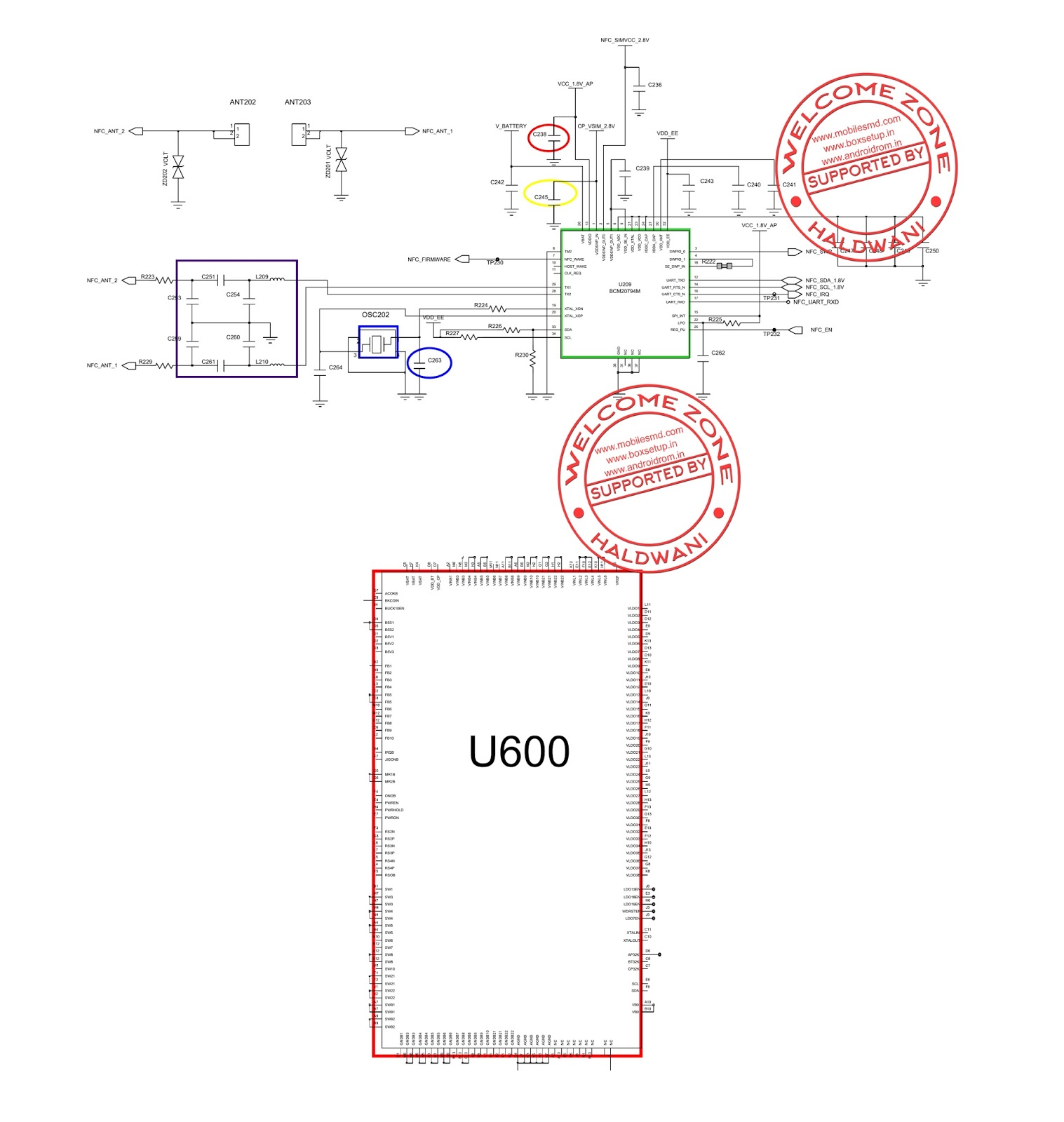 Samsung Galaxy Note 3 Sm N900 Nfc Not Working Solution Circuit Diagram Step 8