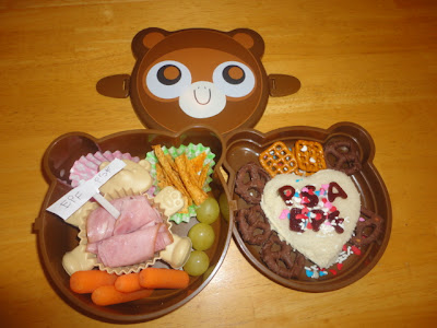 lunch packed by son, bento school lunches