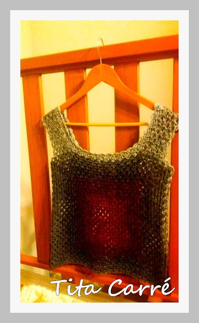 Regata Square em crochet