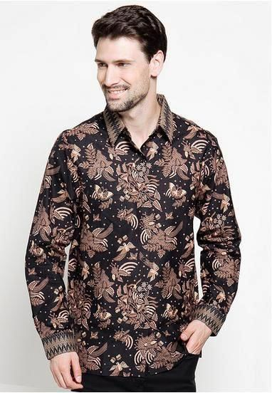 Model Baju Batik Pria Gaul dan Keren Terbaru Modern