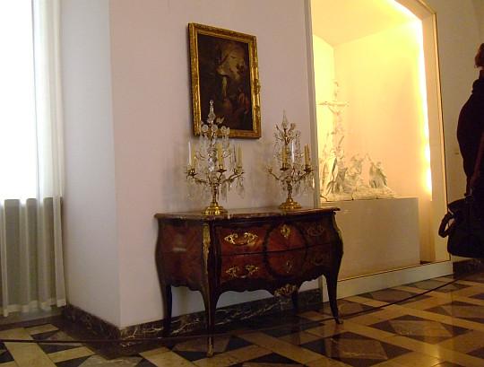 Zamek Królewski na Wawelu. Sala Saska (przed Salą Kolumnową).