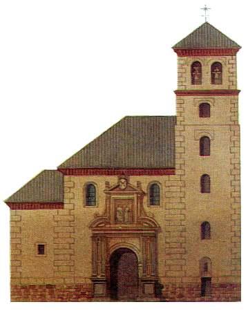 Imagen de la iglesia de San Pedro y San Pablo
