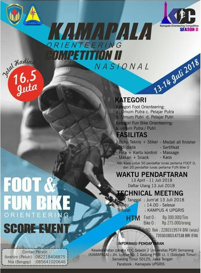 Kamapala Orienteering Competition Season 2 • 2018