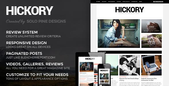 Hickory v2.0.5 A WordPress Magazine Theme