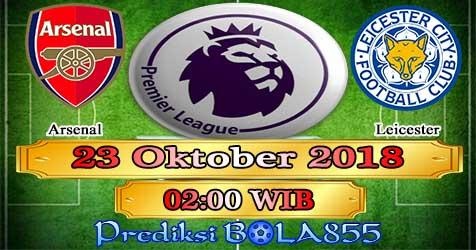 Prediksi Bola855 Arsenal vs Leicester 23 Oktober 2018
