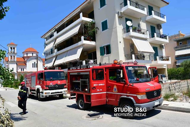 Μικρής έκτασης πυρκαγιά σε διαμέρισμα στο Ναύπλιο (βίντεο)