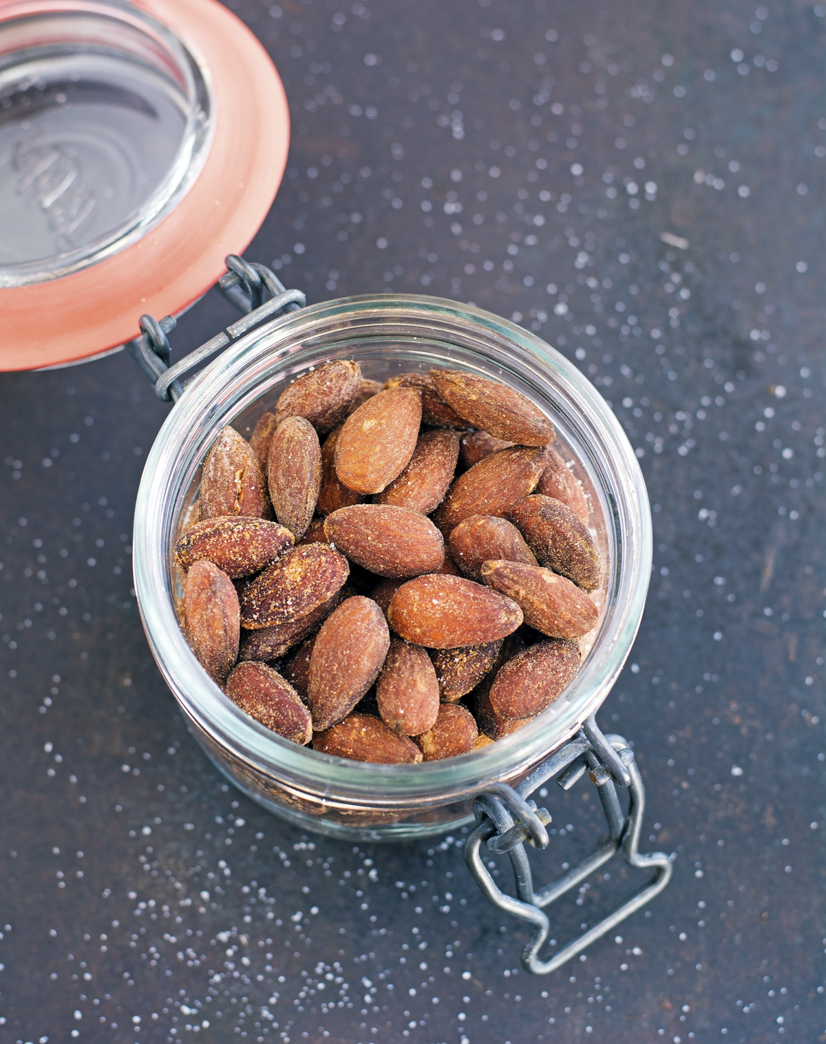 ... almonds can get boring, so what about spicing things up with smoked