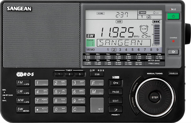Радиоприемник Sangean ATS-909X черный по лучшей цене в наличии