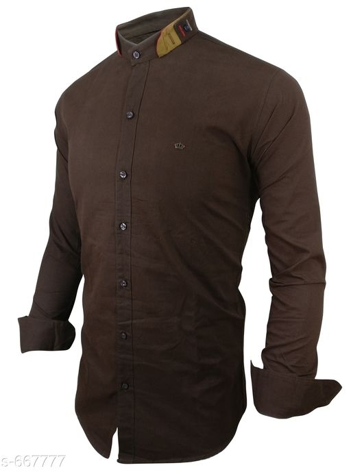 Men's Standard Slim Fit Cotton Shirts Vol 1 [S-667777]