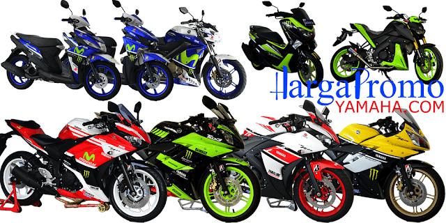 Cash dan Kredit Motor Modifikasi Yamaha Kualitas Terjamin