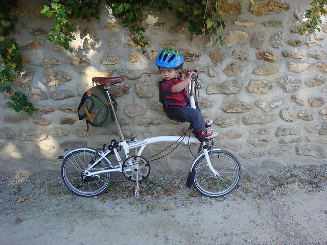 Hands On Bike Brompton M6r Bobike Mini Child Seat With