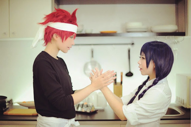 Cosplay Souma Yukihira z Shokugeki no Souma