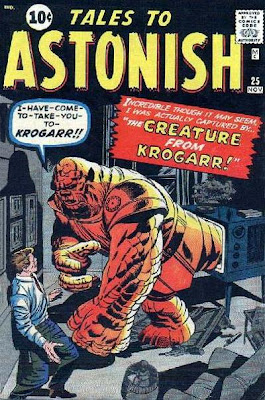 Tales to Astonish, the creature from Krogarr
