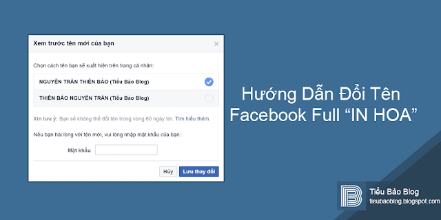 huong dan doi ten facebook full in hoa