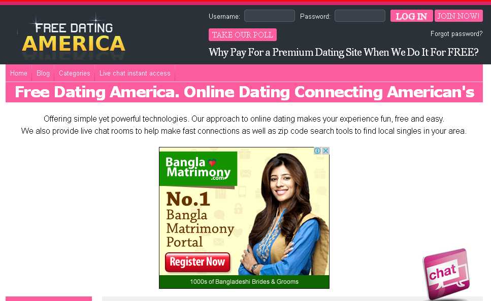 american online dating website