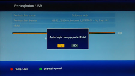 Cara Upgrade Receiver LGSat Infinite HD Terbaru